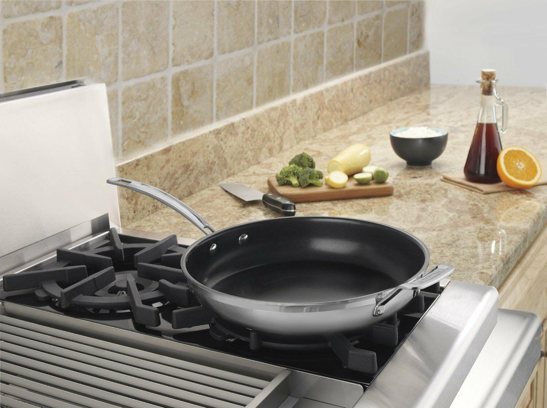 Cuisinart MCP22-30HNSN Nonstick Stainless Steel Skillet