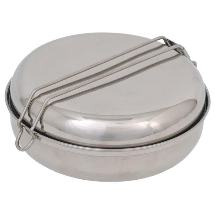 13 Piece Mess Kit - Lightweight Collapsable Non-Stick Alumin