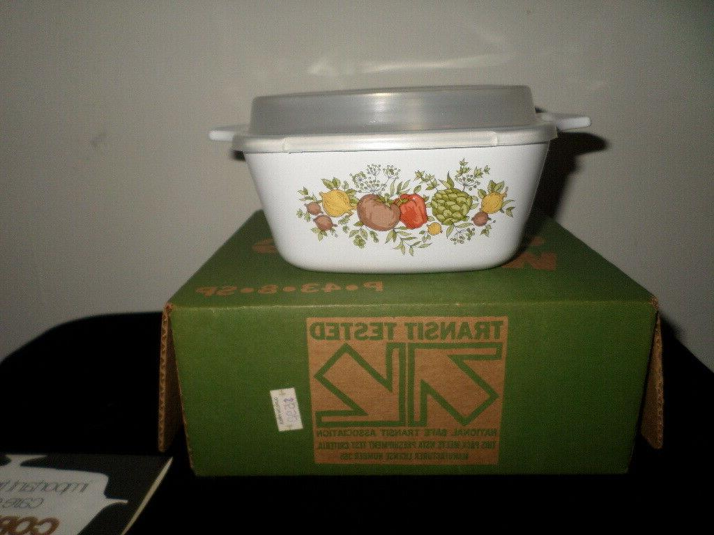 new vintage corning ware spice of life