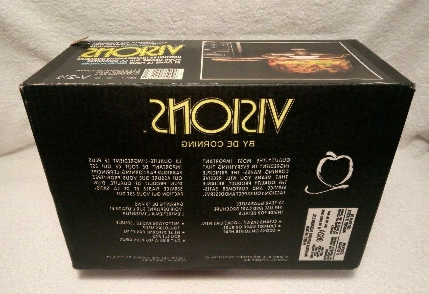 NEW! Amber 2.5L Cookware 1/2 Quart V21/2