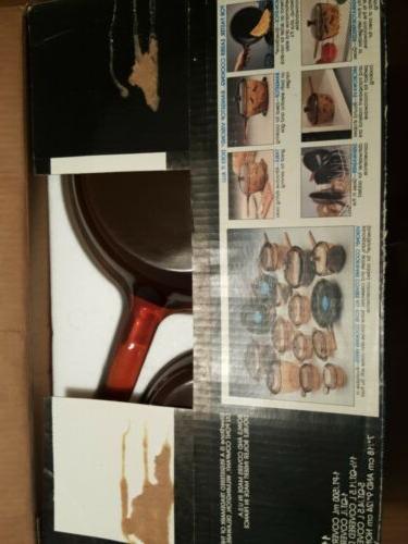 NIB Corning Ware Rangetop Cookware 11 Piece Set V-500-R