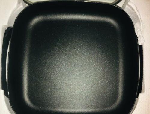 NIB Electric Large 12 Inch Frying Pan; Stick