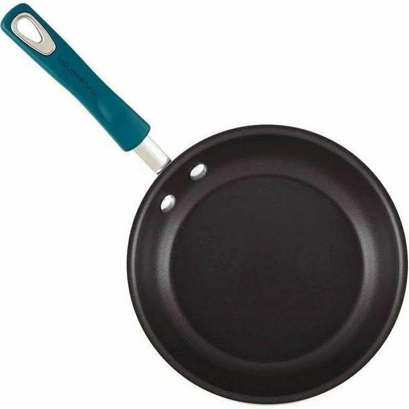Rachael Copper Frying 2 PCS and 10 inch Blue