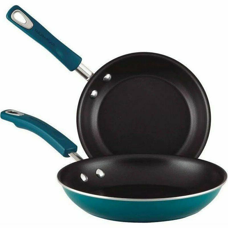 nonstick ceramic copper frying pan set 2
