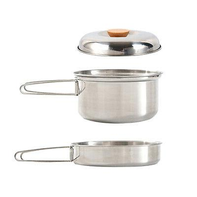 Nonstick Handle Pan BBQ Picnic Camping Nonstick Backpacking