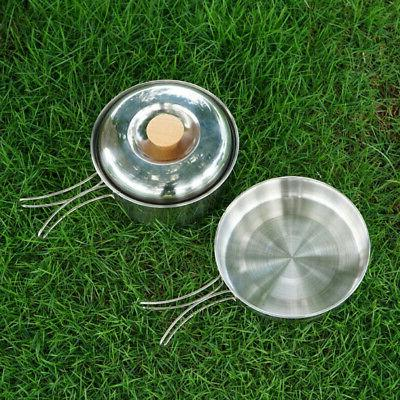 nonstick foldable handle frying pan bbq picnic
