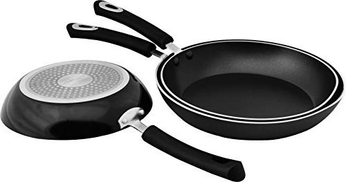 Utopia Kitchen Nonstick Frying Pan Set - 3 Piece 8 9.5 and Inch