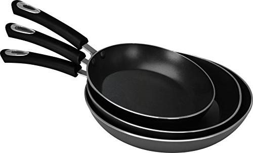 Utopia Nonstick Frying Pan - 3 Piece Induction 8 Inch, 9.5 and