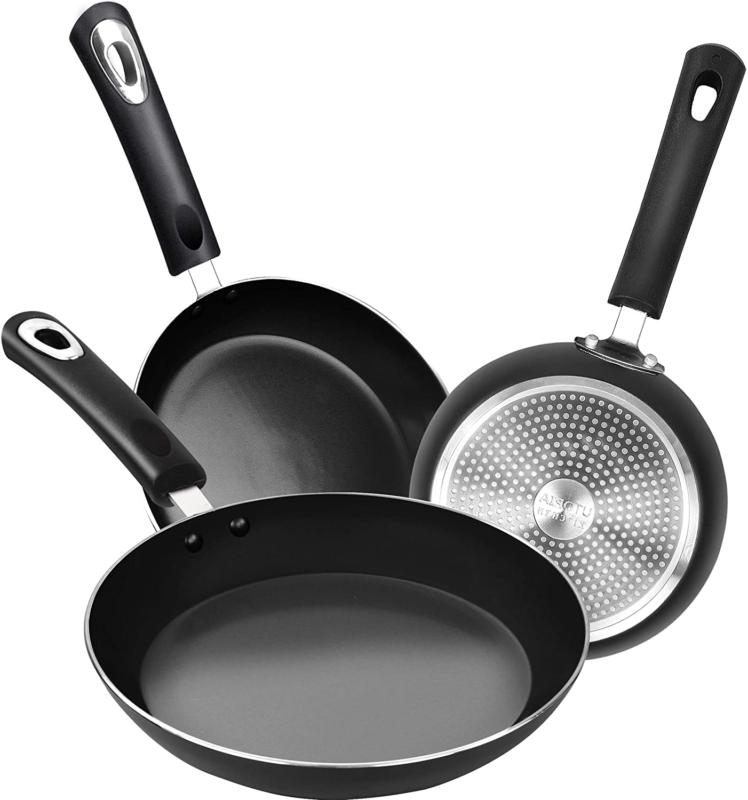 Nonstick Frying Induction Cookware Double Coated Piece