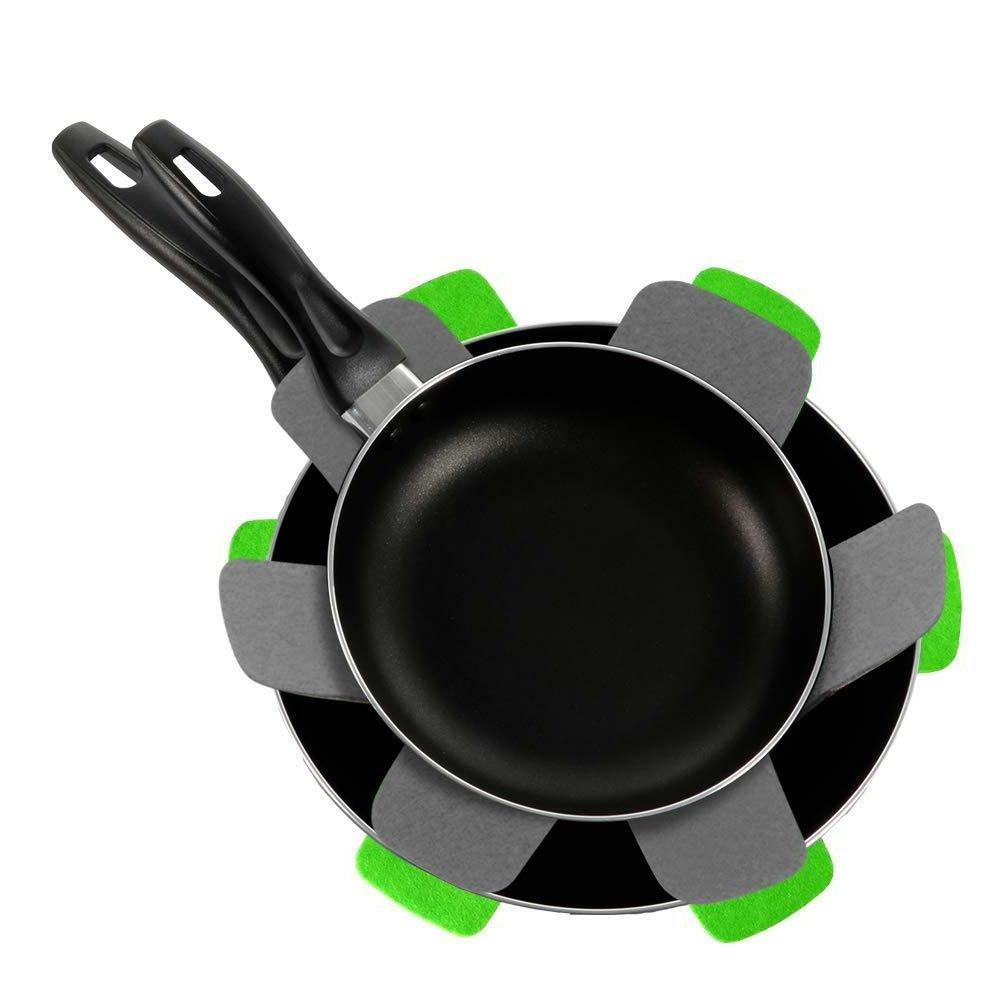 2PC Stick Fry Pan Frying Induction 3