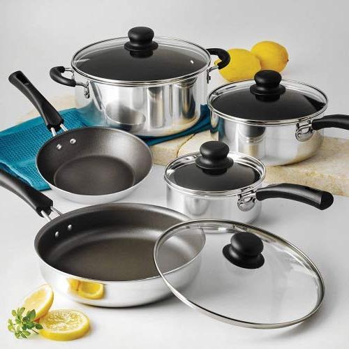 nonstick pots pans cookware set