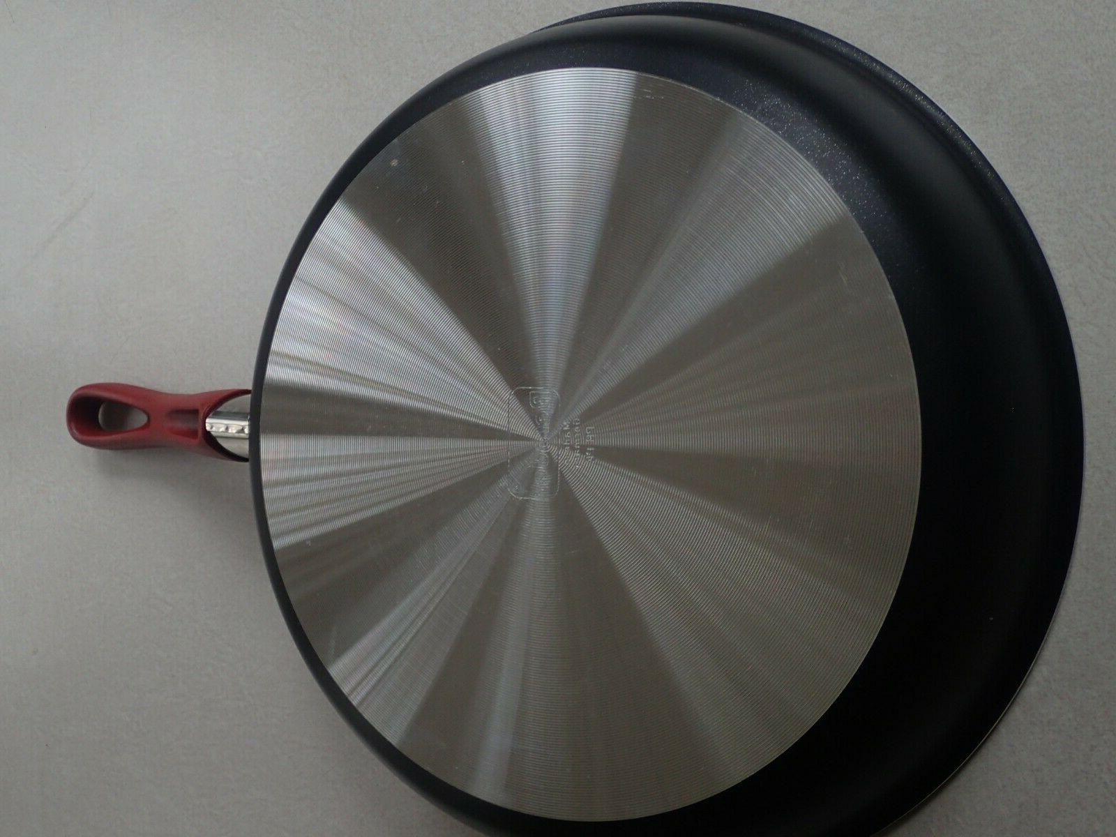 NWOT Red Non-Stick Frying 11 3/4""
