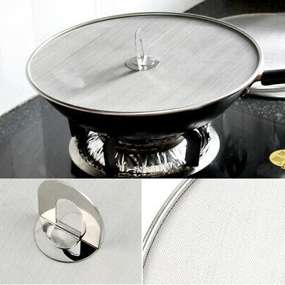 US Frying Pan Cover Splash Guard Cooking Oil Splatter Screen