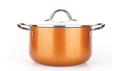 Copper Pan 10-Piece Luxury Induction x 11 inches