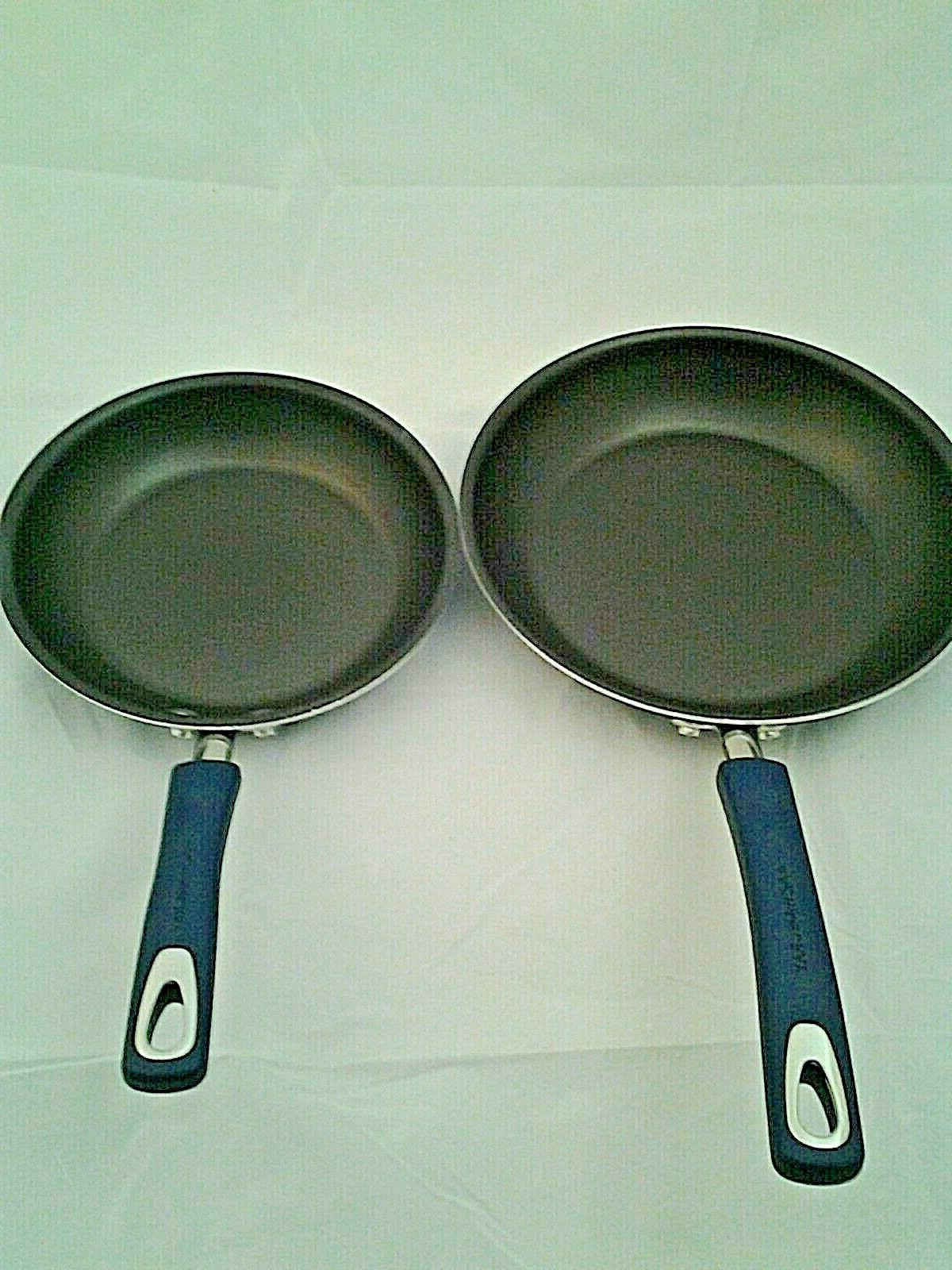 Rachael Ray Porcelain Aluminum 2 Fry Pan inch,