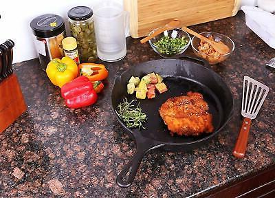 Utopia Kitchen Pre-Seasoned Iron Set - 8 Inch and
