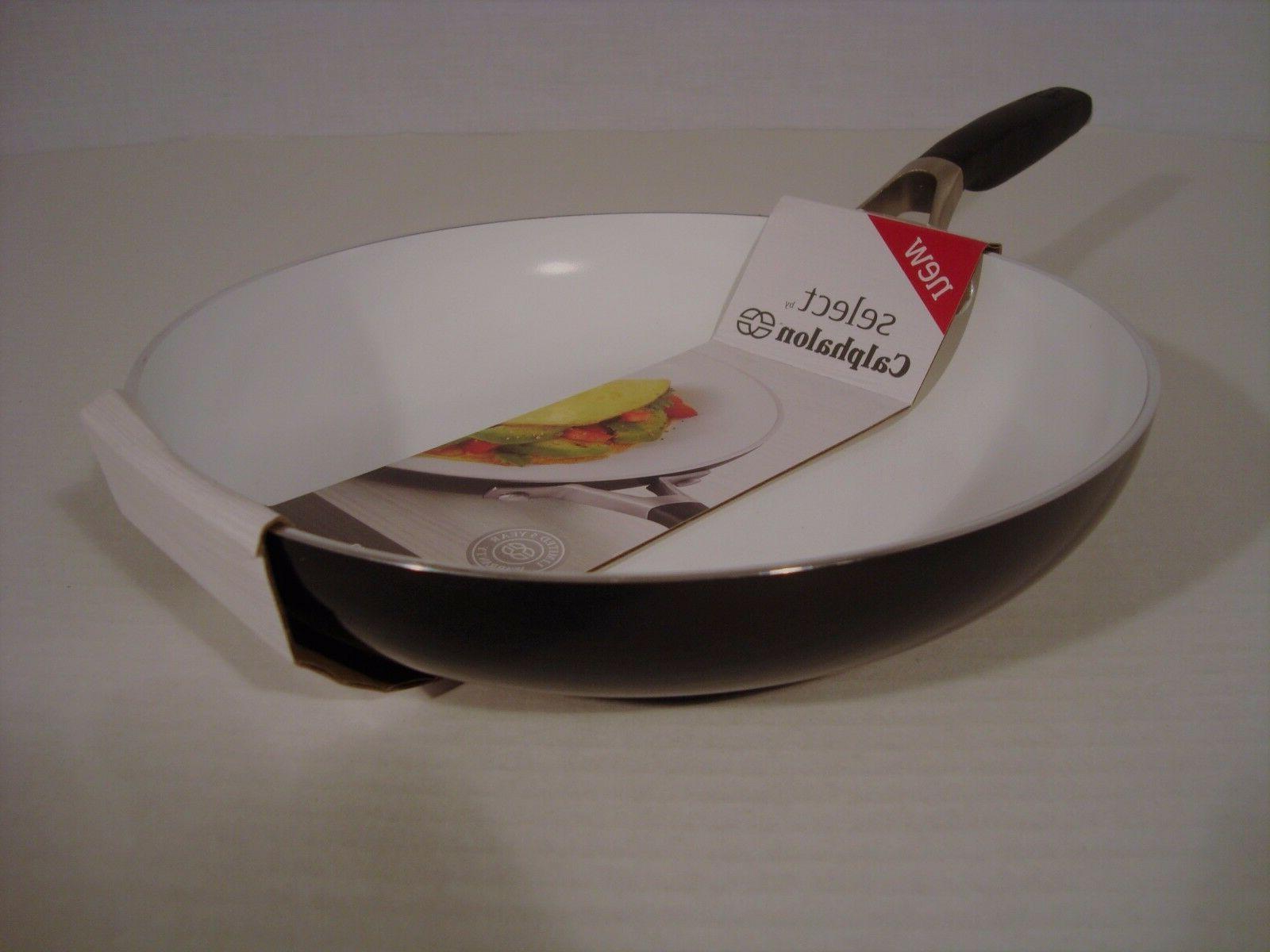 NEW Select Calphalon Ceramic Nonstick 10