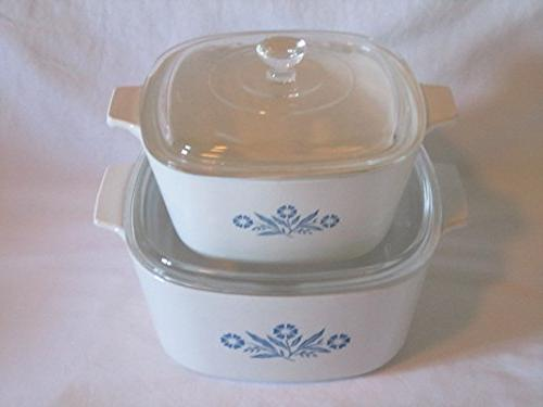 set covered casserole baking dishes