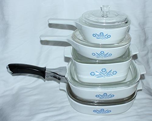 set skillet saucepan casserole baking