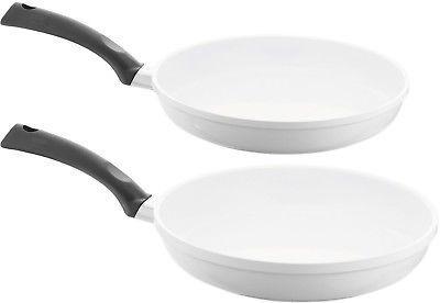 signocast white pearl nonstick ceramic fry pan