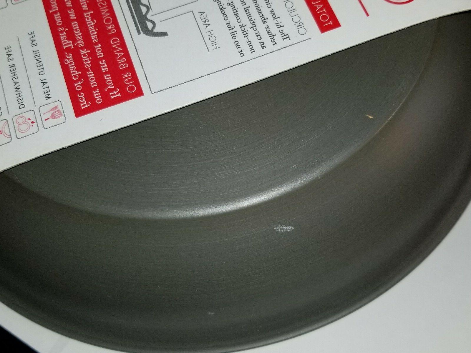 Skillet Innovatum Hard Anodized Gray Non Pan