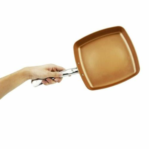 Square Non-Stick Frying Pan