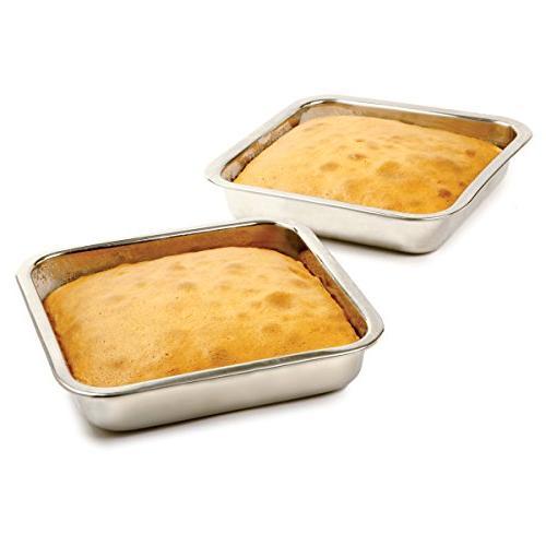 Norpro 8-Inch Steel Cake Pan