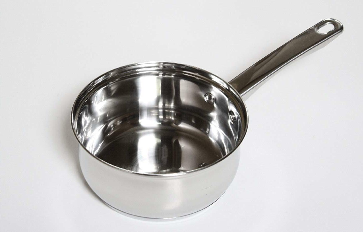 Stainless Pots Glass Frying Pan Pc