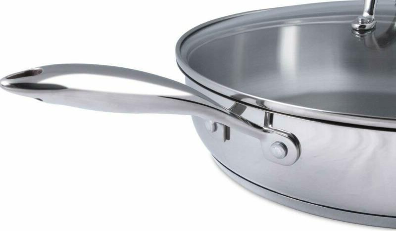 Stainless Lid 12 Pan Non