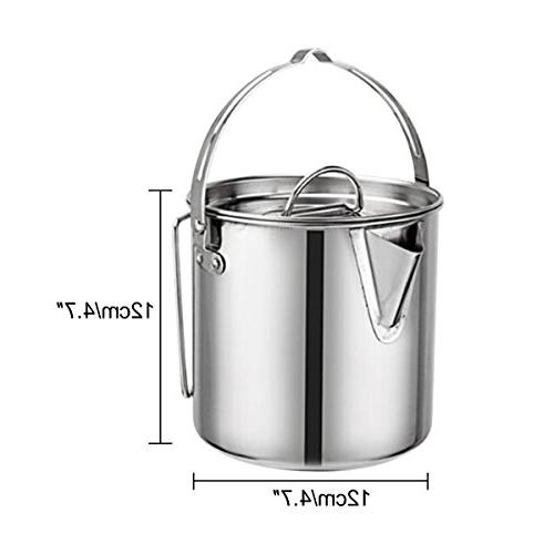 Evaliana Teakettles Kettle Foldable Handle