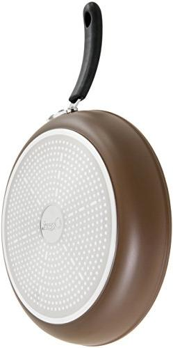 """10"""" Pan by with 100% & PFOA-Free Stone-Derived Non-Stick Germany"""