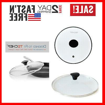 tempered glass 12 inch fry frying pan