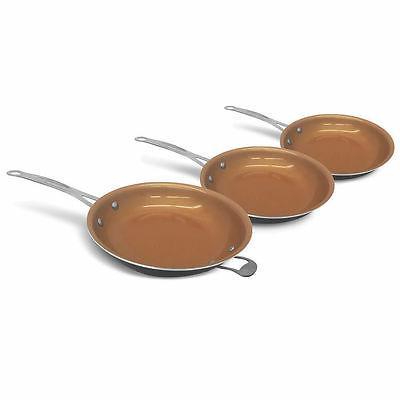 Gotham Steel 6 Ultimate Fry Pan with Lids - Seen BRAND