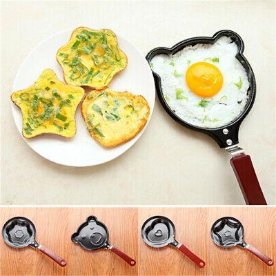 Mini Cartoon Egg Pancake Frying Pan Kitchen Non-stick Poache