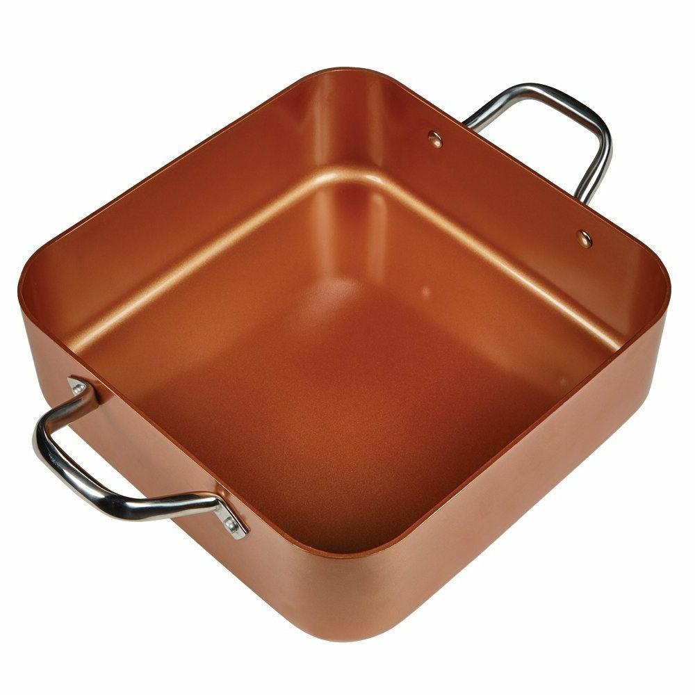Copper Chef XL Shallow Casserole Induction Cooktop Pan PICK