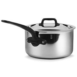 Mauviel M'Cook Pro 5-ply Stainless Steel 2.7-quart Saucepa