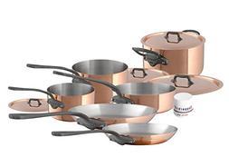 Mauviel M'Heritage M150C2 6450.06-10 Piece Copper Cookware S