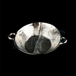 Miniature Wok Frying Pan Dollhouse Cookware Accessories Wok