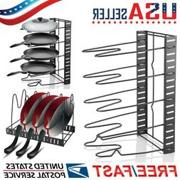 Multi Tiers Pot Frying Pan Storage Rack Organizer Kitchen Co