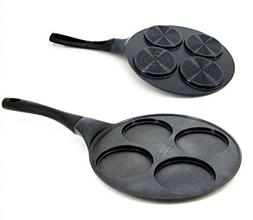 ChefLine Multipurpose Casting Egg Pan 4 Holes Egg Frying pan