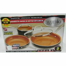 Gotham Steel Nonstick Copper 5 Piece Back To College Complet