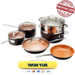 Gotham Steel Non-Stick Titanium Cookware Set