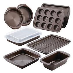 Circulon 46857 Warp Resistant Bakeware Set, 10 Piece, Chocol