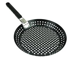 """Nonstick Grilling 12"""" Skillet With Removable Handle for Easy"""