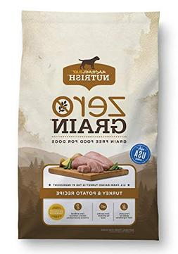 Rachael Ray Nutrish Zero Grain Natural Dry Dog Food, Turkey