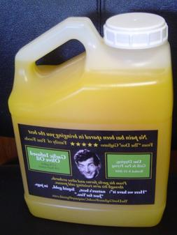 one gallon garlic flavored cooking oil, pan,grill,deep fryin
