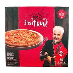 Guy Fieri 16 inch Pizza Stone with Oven Safe Rack