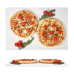 Large Pizza Stone 20x13.5in - Rectangular Stone for Baking &
