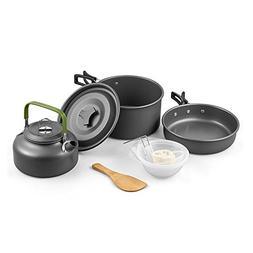 Outdoor Portable Camping Pot Set Multifunctional Cooking Set