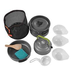 Detectoy Portable Outdoor Cookware Camping Hiking Backpackin